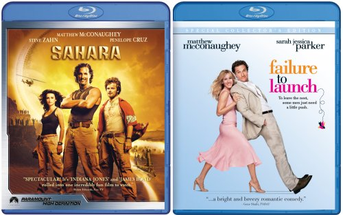 Sahara/Failure to Launch [Blu-ray]