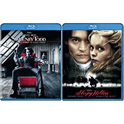 Sweeney Todd/Sleepy Hollow [Blu-ray]