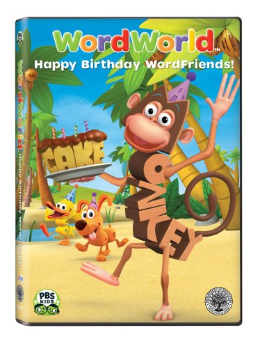 WordWorld: Happy Birthday WordFriends!