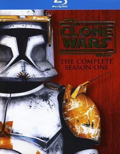 Star Wars The Clone Wars: The Complete Season One (TV Series) [Blu-ray]