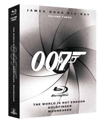 James Bond Blu-ray Collection Three-Pack, Vol. 3 (Moonraker/ The World is Not Enough / Goldfinger) [Blu-ray]