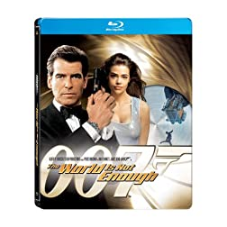 The World is Not Enough (James Bond) (Amazon.com Exclusive Steelbook Edition) [Blu-ray]