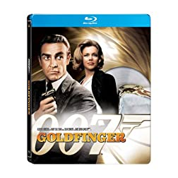 Goldfinger (James Bond) (Amazon.com Exclusive Steelbook Edition) [Blu-ray]