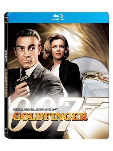 Goldfinger (James Bond) (Amazon.com Exclusive Steelbook Edition) [Blu-ray]