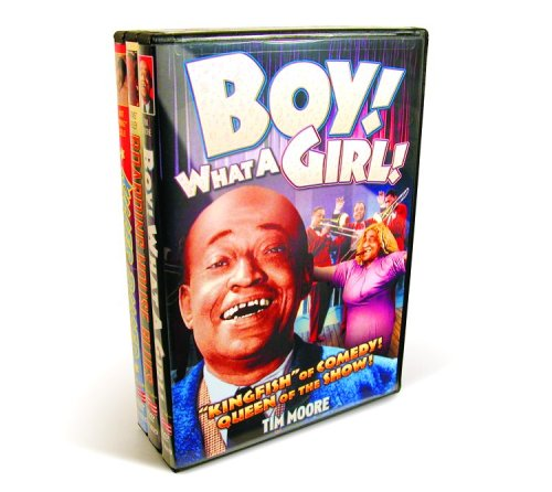 Black Cast Comedy & Music (Boy! What A Girl!  / Boarding House Blues / Killer Diller) (3-DVD)