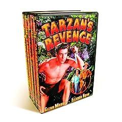 Tarzan Collection (Tarzan's Revenge / Tarzan The Fearless / Tarzan And The Trappers  / Tarzan and the Golden Lion (Silent) / Tarzan The Tiger (Silent) / Tarzan and The Green Goddess) (5-DVD)