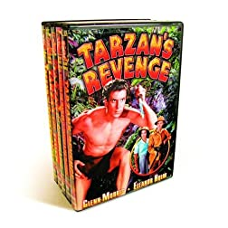 Tarzan Collection (Tarzan's Revenge / Tarzan The Fearless / Tarzan And The Trappers  / Tarzan and the Golden Lion (Silent) / Tarzan The Tiger (Silent) / Tarzan and The Green Goddess) (5-DVD)