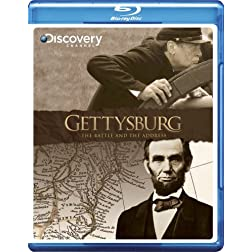 Gettysburg: The Battle and the Address [Blu-ray]