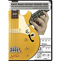 EASY BASS GUITAR THEORY DVD - Play, Write and Understand Music Theory for Bass Guitar