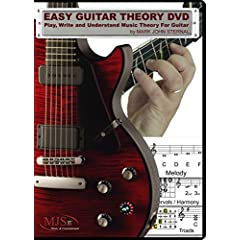 EASY GUITAR THEORY DVD - Play, Write and Understand Music Theory for Guitar