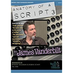 Anatomy of a Script 3 - James Vanderbilt