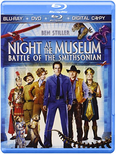 Night at the Museum: Battle of the Smithsonian (Three-Disc Edition + Digital Copy + DVD) [Blu-ray]
