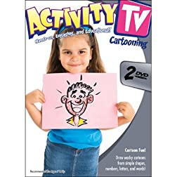 Activity TV: Cartooning 1 (2pc)