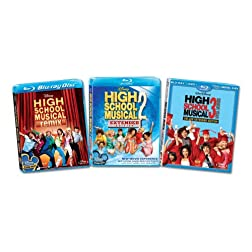 High School Musical 1-3 [Blu-ray]