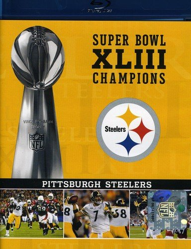 NFL Super Bowl XLIII: Pittsburgh Steelers Champions (Amazon Exclusive) [Blu-ray]