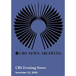 CBS Evening News (November 12, 2000)