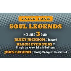 Soul Legends: Janet Jackson, Black Eyed Peas & John Legend