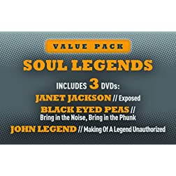 Soul Legends: Janet Jackson, Black Eyed Peas & John Legend