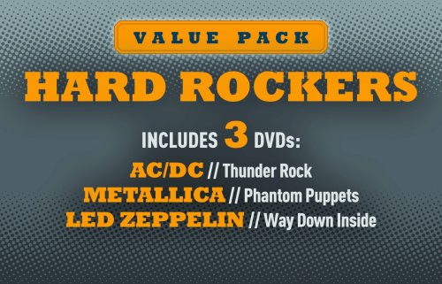 Hard Rockers: AC/DC, Metallica & Zeppelin