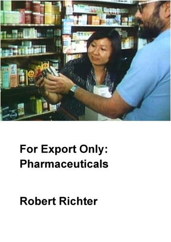 For Export Only: Pharmaceuticals (Institutional: Colleges/Universities)