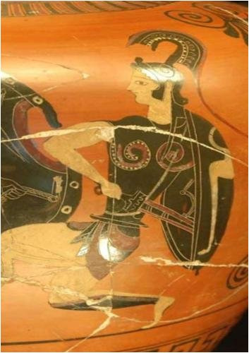 Ancient Greek woman warriors AMAZONS