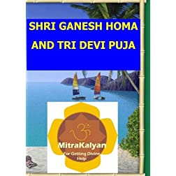 Ganesh Homa and Tri Devi Puja DVD (PAL Format)