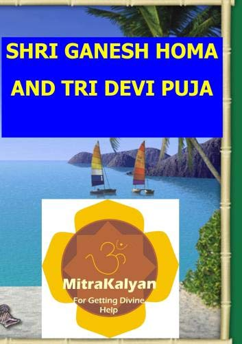 Ganesh Homa and Tri Devi Puja DVD (PAL Format)