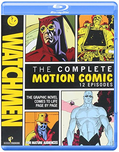 Watchmen: The Complete Motion Comic (+ Digital Copy and BD-Live) [Blu-ray]