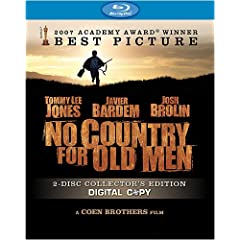 No Country for Old Men (2-Disc Collector's Edition + Digital Copy) [Blu-ray]