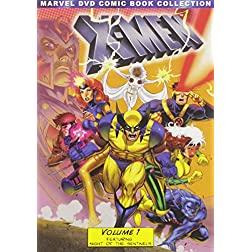 X-Men, Volume 1 (Marvel DVD Comic Book Collection)