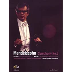 Dohnanyi Conducts Mendelssohn: Symphony No. 3, Strauss and Bartok
