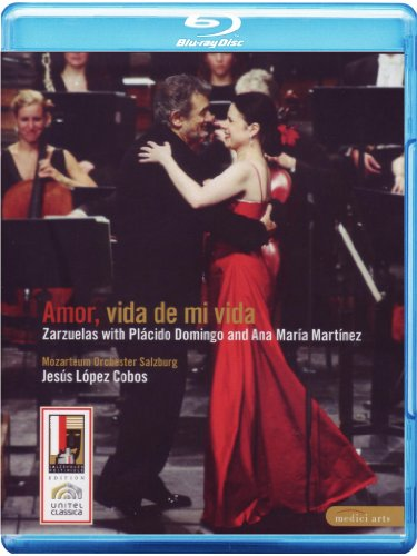 Amor, Vida de Mi Vida: Zarzuelas by Palcido Domingo and Ana Maria Martinez [Blu-ray]