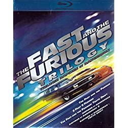 The Fast and the Furious Trilogy (The Fast and the Furious / 2 Fast 2 Furious / The Fast and the Furious: Toyko Drift) [Blu-Ray] [Blu-ray]