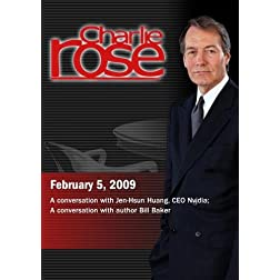 Charlie Rose - Jen-Hsun Huang, CEO Nvidia / Bill Baker, Author (February 5, 2009)