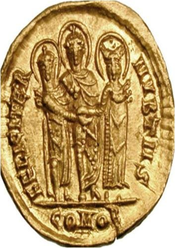 Solidus Byzantine Coin Vol II