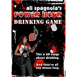 Ali Spagnola's Power Hour Drinking Game