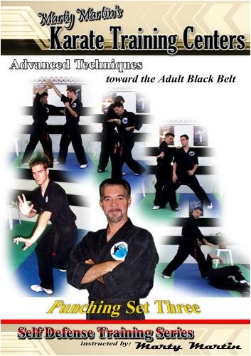 "Marty Martin's Self Defense Training Series ""Punching Set Three"""