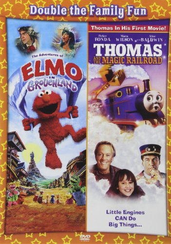The Adventures of Elmo in Grouchland/Thomas and the Magic Railroad