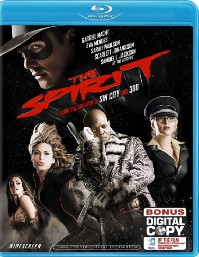 The Spirit (Two-Disc Blu-ray/DVD Combo + Digital Copy and BD Live) [Blu-ray]