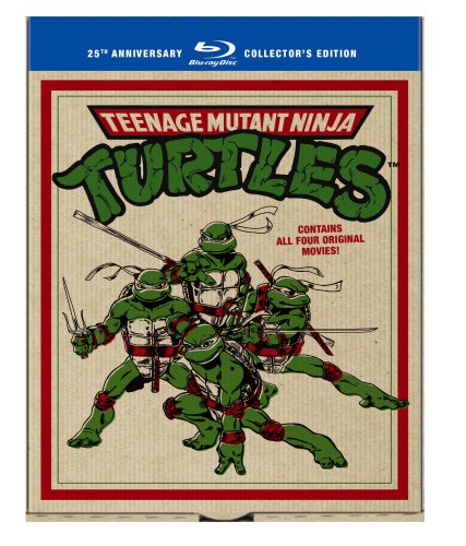 Teenage Mutant Ninja Turtles Film Collection (Teenage Mutant Ninja Turtles / Secret of the Ooze / Turtles in Time / TMNT) [Blu-ray]