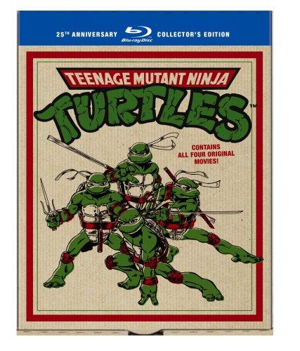 Teenage Mutant Ninja Turtles Film Collection (Teenage Mutant Ninja Turtles / Secret of the Ooze / Turtles in Time / TMNT) [Blu-ray]