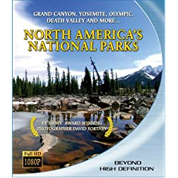 North America's National Parks [Blu-ray]