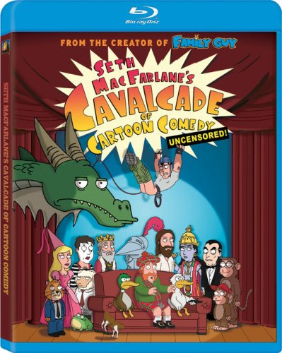 Seth MacFarlane's Cavalcade of Cartoon Comedy: Uncensored! [Blu-ray]