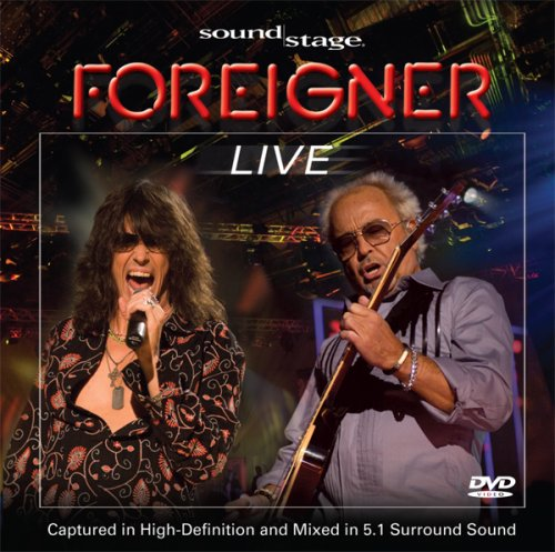 Soundstage: Foreigner - Live (Jewel Case)