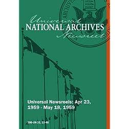 Universal Newsreel Vol. 32 Release 33-40 (1959)