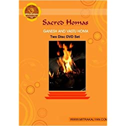Ganesh and Vastu Homa - Two Disc DVD Set (NTSC)