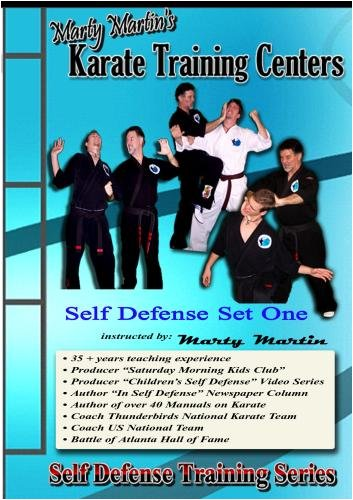 "Marty Martin's Self Defense Training Series ""Self Defense Set One"""
