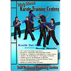 "Marty Martin's Self Defense Training Series ""Knife Set One"""