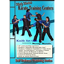 "Marty Martin's Self Defense Training Series ""Knife Set One"""