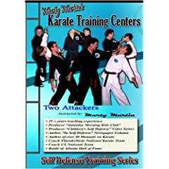 """Marty Martin's Self Defense Training Series """"Two Attackers Set"""""""
